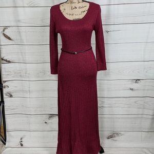 CALVIN KLEIN Ribbed Knit Dress